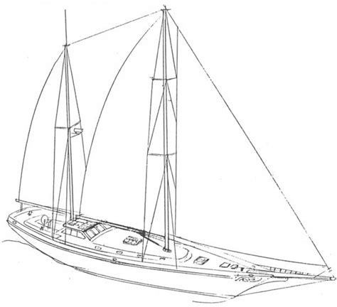 how to draw boat lines plan drawn oat sailing vessel pencil and in color drawn oat