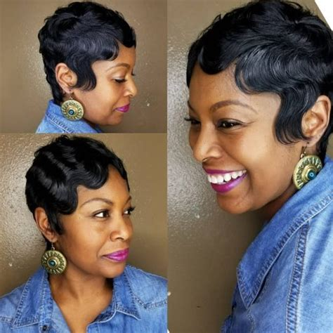 Finger Waves Black Hairstyles With Weave by 60 Best Hairstyles Haircuts For Black In 2018
