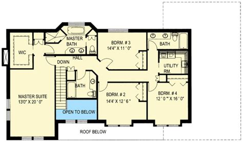 Mother In Law Suite Floor Plan traditional home with mother in law suite 35428gh