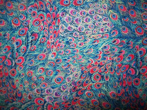 peacock feather upholstery fabric designer peacock feathers fabric per half yard by