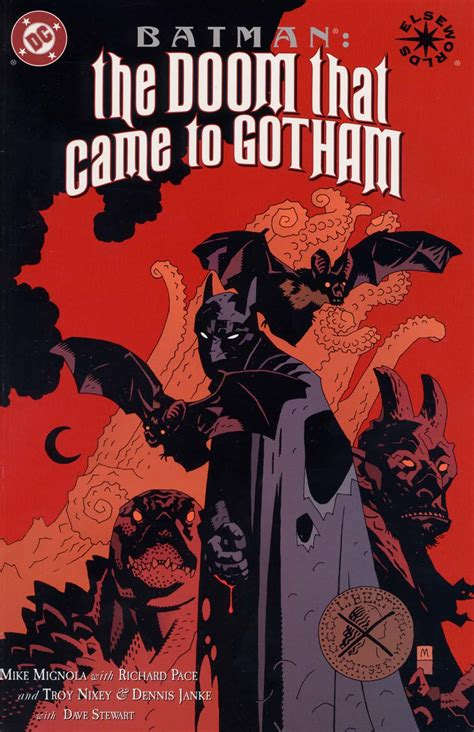 Dreamers In Hell Heroes In Hell batman the doom that came to gotham vol 1 3 dc database