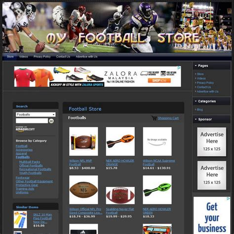 football store fully automated home business