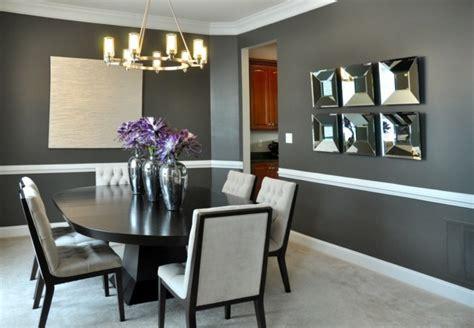 Black Modern Dining Room Sets Peinture Salle 224 Manger 77 Id 233 Es Charmantes