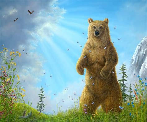 quot majesty quot original in oil by robert bissell a painting of