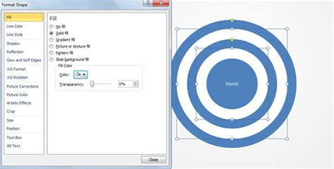 Powerpoint Presentations How To Create Concentric Circles In Powerpoint The Highest Quality How To Make Concentric Circles In Powerpoint