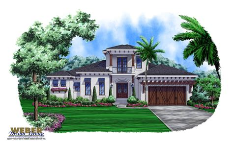 West Indies House Plan Callaloo House Plan Weber West Indies Style House Plans