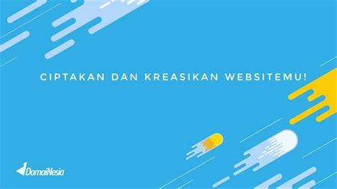 membuat web sendiri dengan html cara mudah membuat website dari domainesia wujudkan