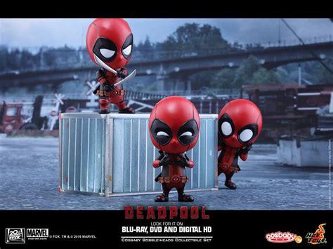 toys deadpool cosbaby figures series revealed marvel news