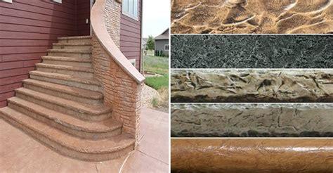 concrete step forms the concrete network