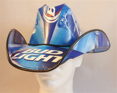 bud light cowboy hat beer box cowboy hats dui dressing under the influence