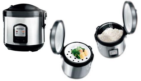 Promo Sanken Rice Cooker Stainless 6 In 1 Sj 3000 silvercrest stainless steel rice cooker 400 w makhsoom