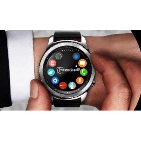 Jam Smartwatch Samsung Jam Tangan Pintar Samsung S3 Gear Classic Bezel Silver Bnib Bergaransi Harga Murah Jakarta