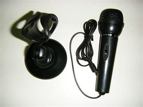 Mic Karaoke E Smile Harga Promo jual mic mikrofon kecil pc laptop karaoke msn skype voip dudukan on aleng88