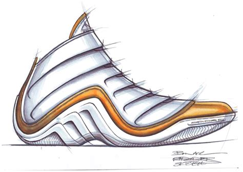 drawings of basketball shoes footwear sketches by ben keane at coroflot