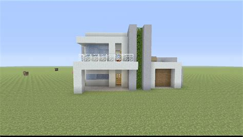 minecraft small modern house how to build a small modern house in minecraft youtube