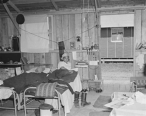 Typical Japanese Apartment Interior Japanese American Internment Camps