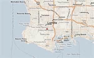 lomita california map lomita location guide