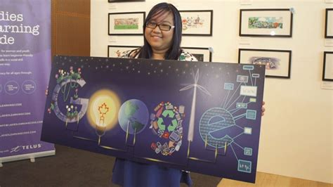 doodle 4 canada winners toronto wins 10 000 prize with optimistic