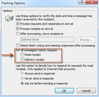 Office 365 Outlook Read Receipt How To Request Delivery Receipt And Read Receipt In Outlook
