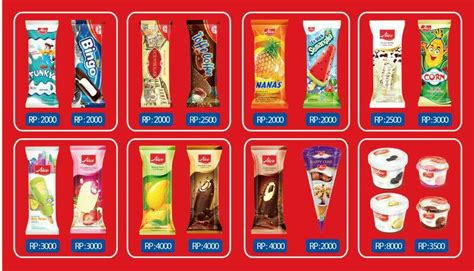 Harga Es Krim Merk Aice jual es krim aice singapore fawwaz shop