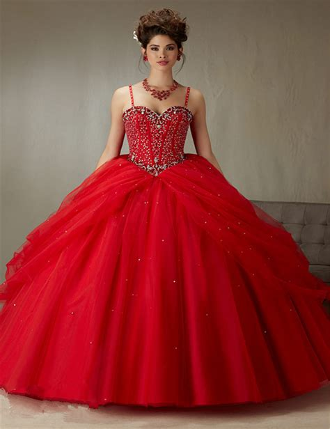 design your quinceanera dress 2016 latest design ball gown quinceanera dress red with