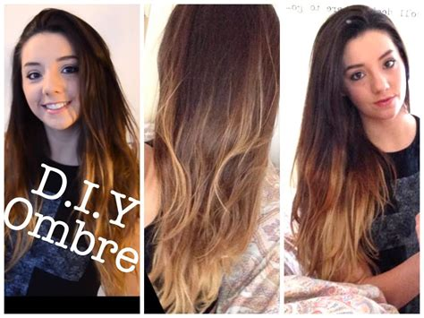 diy ombre at home dip dye tutorial and demo