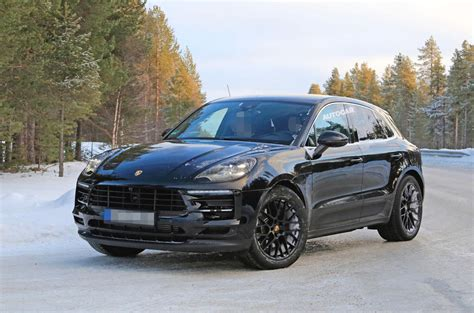 2018 porsche macan turbo 2018 porsche macan release date refresh changes