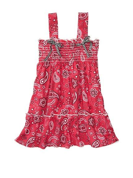 Dress Bandana Baby country baby smocked bandana print dress my style