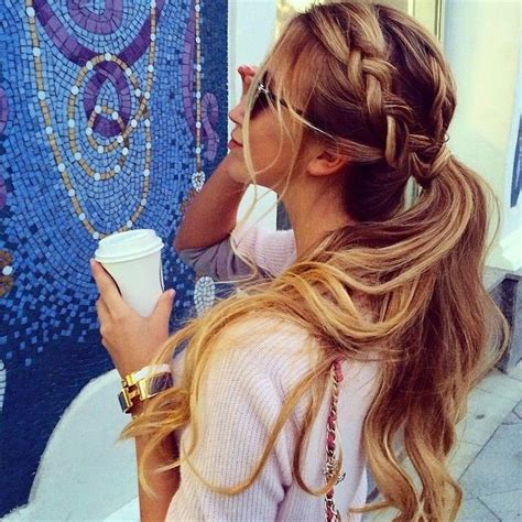 hair style for spring 2015 ponytail hairstyles haircuts hairstyles 2015 hair trends