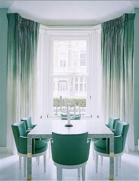 aqua kitchen curtains ombre turquoise curtains