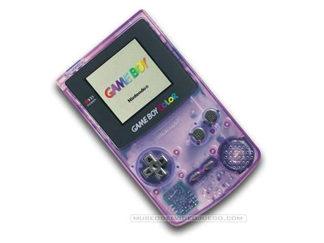 atomic purple gameboy color ficha t 233 cnica de boy color clear atomic purple de