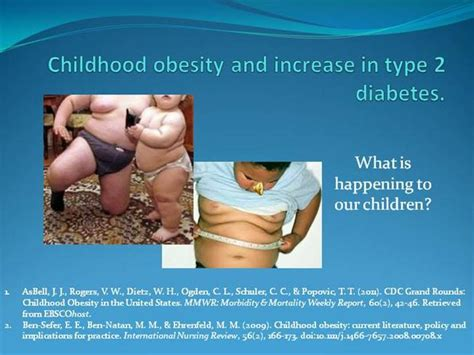 childhood obesity powerpoint templates childhood obesity and increase in type 2 diabetes