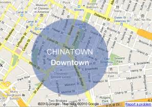Chinatown New York Map by Pics Photos Chinatown New York City Tourist Map See Map