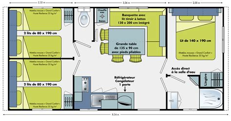 1500 Square Foot Ranch House Plans location de mobile homes au camping le rivage 224 yport en