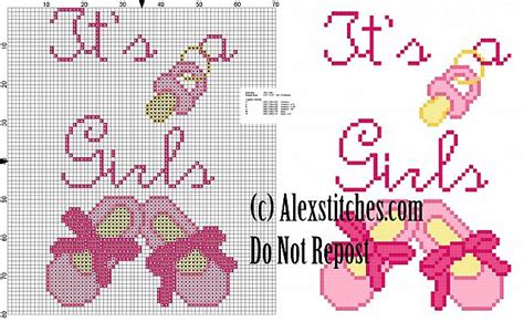 Birth Record Cross Stitch Patterns Free It S A With Shoes Birth Record Cross Stitch Pattern Free Cross Stitch Patterns