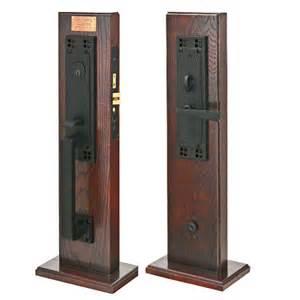 Emtek craftsman mortise handleset flat black us19