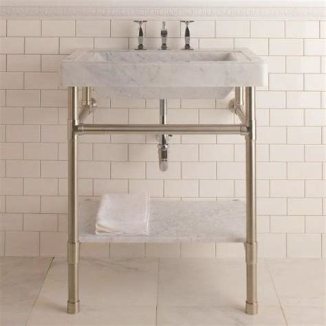 stone forest console sink circa marble top canaroma bath