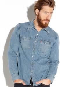 chemise en jean attention au look cowboy