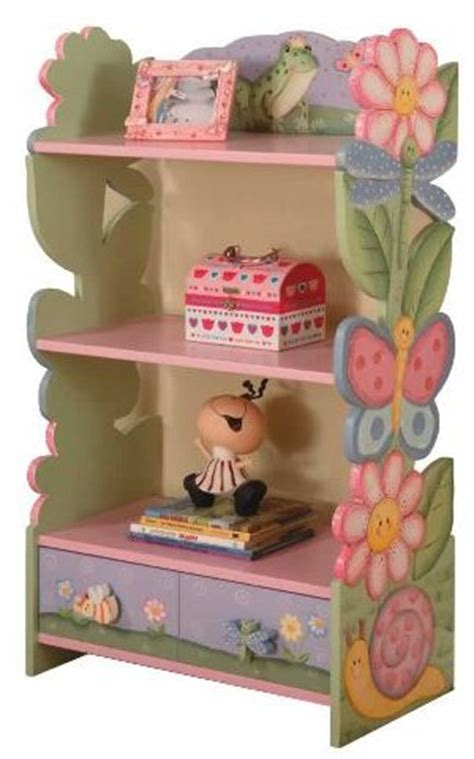magic garden bookcase decorating ideas