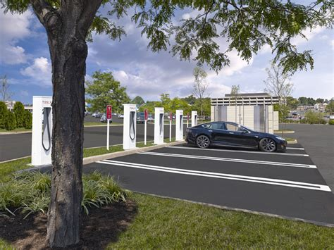 Tesla Charging Stations Ohio Tesla Motors Electric Vehicle Charging Stations Hatzel