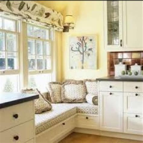Kitchen Window Seat Ideas | kitchen window seat decorating ideas pinterest