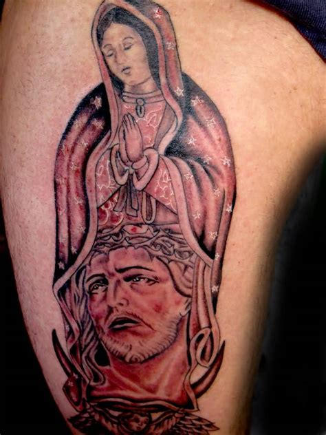 virgin mary back tattoo jesus ideas and jesus designs page 5