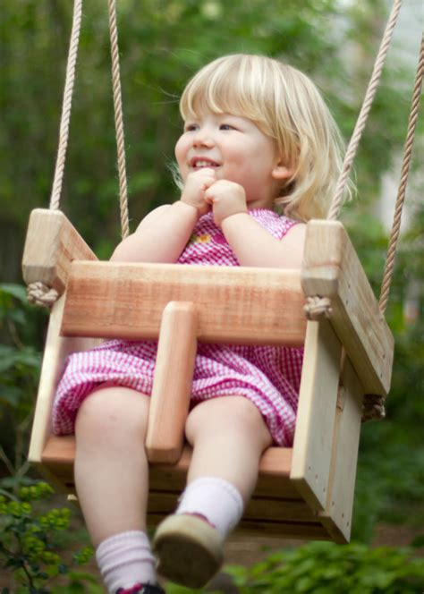 outdoor swings for babies and toddlers baby swing or toddler swing cedar handmade porch or tree