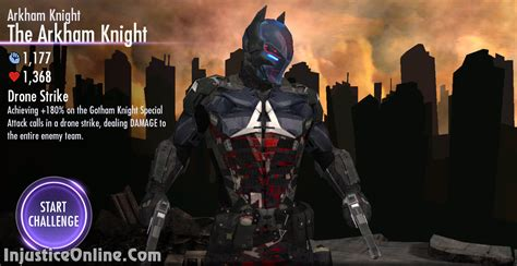 injustice gods among us new challenge injustice gods among us mobile the arkham challenge