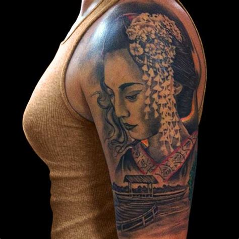 tattoo 3d geisha 1000 images about tattoos on pinterest ankle tattoos