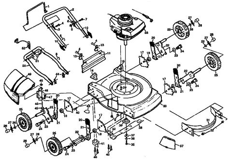 sears lawn tractor parts diagram craftsman lawn mower parts diagram model sears partsdirect
