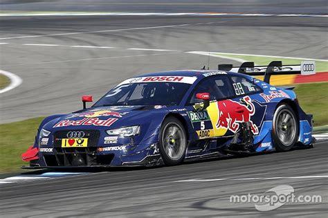 Audi Dtm Fahrer by Dtm In Hockenheim Audi Fahrer Mattias Ekstr 246 M In Letztem
