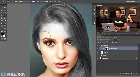 change hair color in photoshop photoshop ä le sa 231 rengi deä iå tirme â tutorä al animasyon