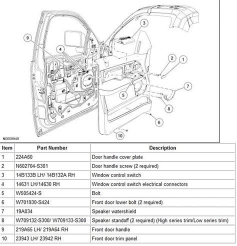 ford 2013 f150 xlt driver side door diagram autos post