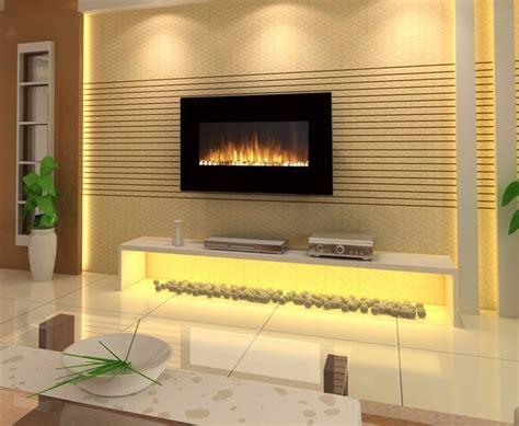 calefactor chimenea electrica calefactor chimenea el 233 ctrica de pared pantalla curva 90cm